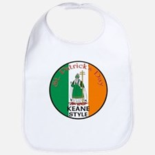 Keane, St. Patrick's Day Bib