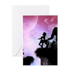 Wonderful centaur Greeting Cards