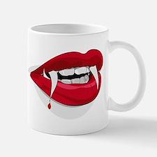 Halloween Vampire Teeth Mugs