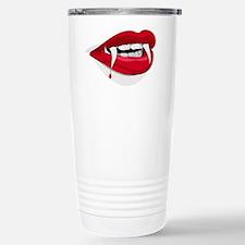 Halloween Vampire Teeth Travel Mug