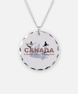 Canada Winter Sports Necklace