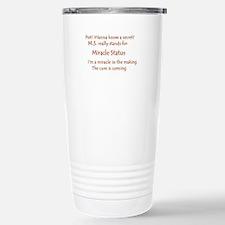 Miracle Status.JPG Travel Mug