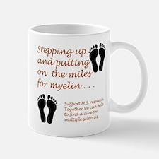 Miles for Myelin.JPG Mugs