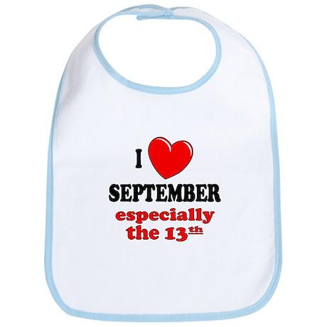 September 13th Bib