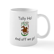 Tally Ho! Fox Hunting on Horseback Mugs