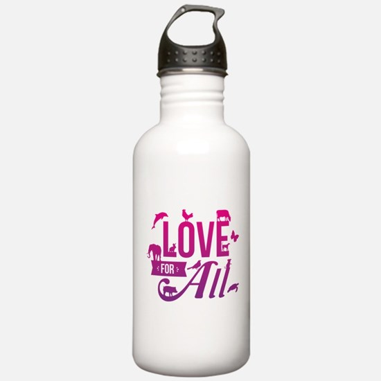 Love for All Water Bottle