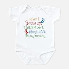 Delivery Room Nurse Like Mommy Infant Bodysuit