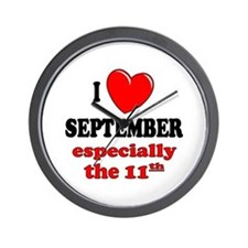 September 11th Wall Clock