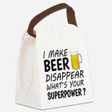 I Make Beer Disappear Canvas Lunch Bag