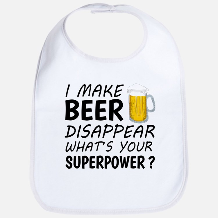 I Make Beer Disappear Bib