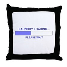 Unique Laundry room Throw Pillow