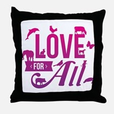 Love for All Throw Pillow