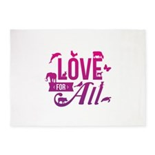 Love for All 5'x7'Area Rug