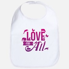 Love for All Bib