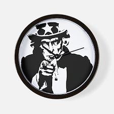 Uncle Sam America Wall Clock