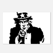 Uncle Sam America Postcards (Package of 8)