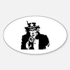 Uncle Sam America Decal