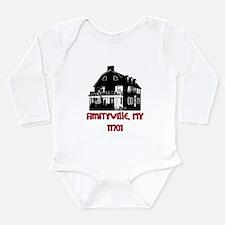 Unique Haunted house Long Sleeve Infant Bodysuit