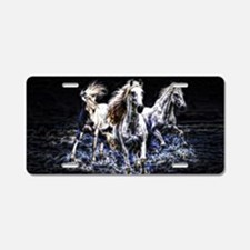Unique Horse Aluminum License Plate
