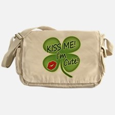 Cute St pats Messenger Bag