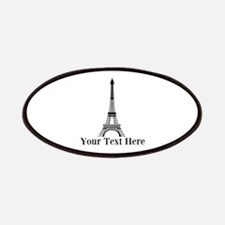 Personalizable Eiffel Tower Patch