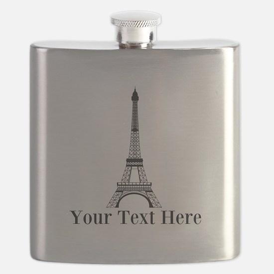 Personalizable Eiffel Tower Flask