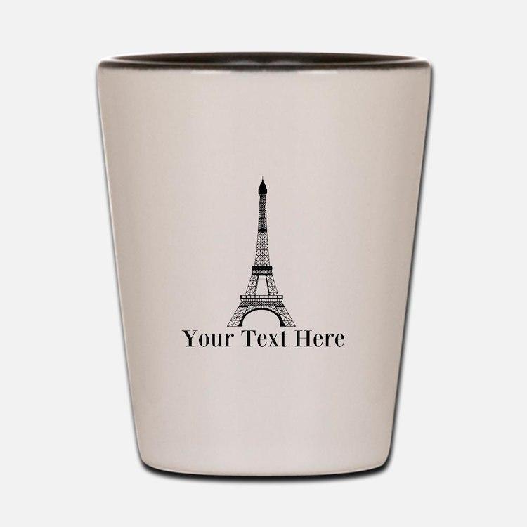 Personalizable Eiffel Tower Shot Glass