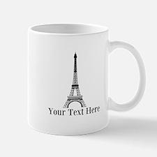 Personalizable Eiffel Tower Mugs
