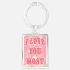 Funny I love you in sign language Portrait Keychain
