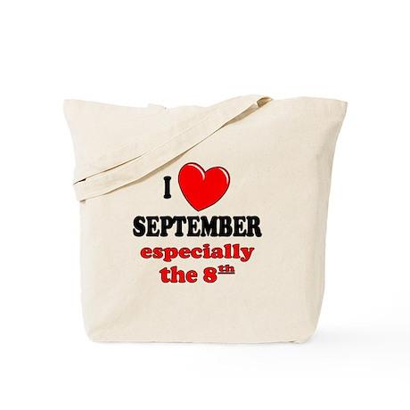 September 8th Tote Bag