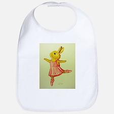 Ballerina Bunny Bib