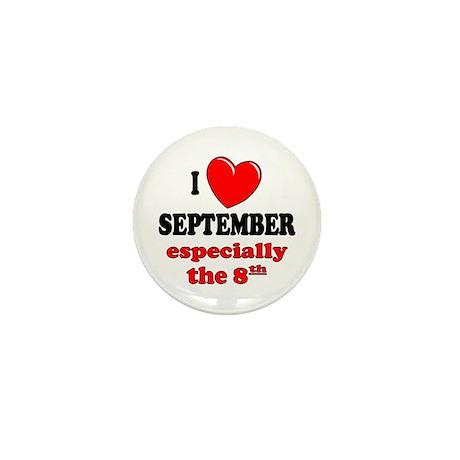 September 8th Mini Button (100 pack)