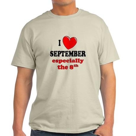 September 8th Light T-Shirt