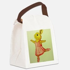 Ballerina Bunny Canvas Lunch Bag