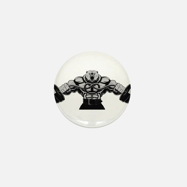 Gym Maniac Mini Button