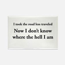 The road less traveled Magnets