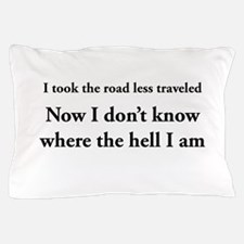 The road less traveled Pillow Case