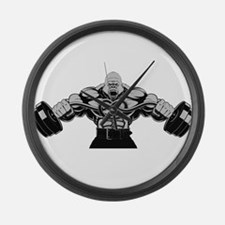 Gym Maniac Large Wall Clock