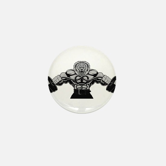 Gym Maniac Mini Button