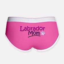 Labrador Mom Women's Boy Brief