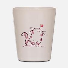 Kitty Love Shot Glass