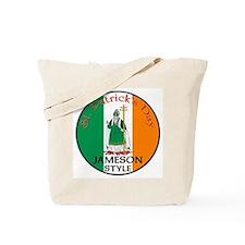 Jameson, St. Patrick's Day Tote Bag