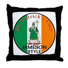 Jameson, St. Patrick's Day Throw Pillow