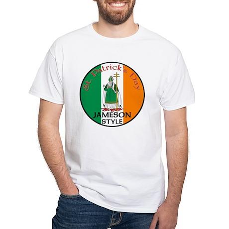 Jameson, St. Patrick's Day White T-Shirt
