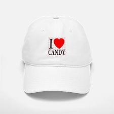 I Love Candy Baseball Baseball Cap