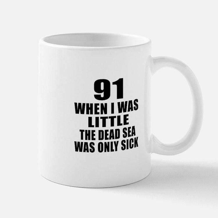 91 When I Was Little Birthday Mug
