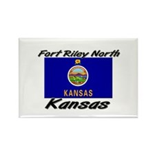 Fort Riley North Kansas Rectangle Magnet