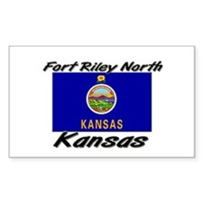 Fort Riley North Kansas Rectangle Decal