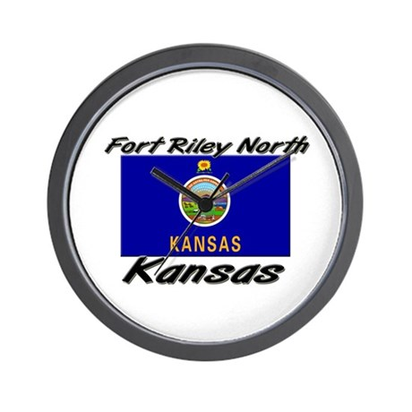 Fort Riley North Kansas Wall Clock