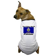 Fort Riley North Kansas Dog T-Shirt